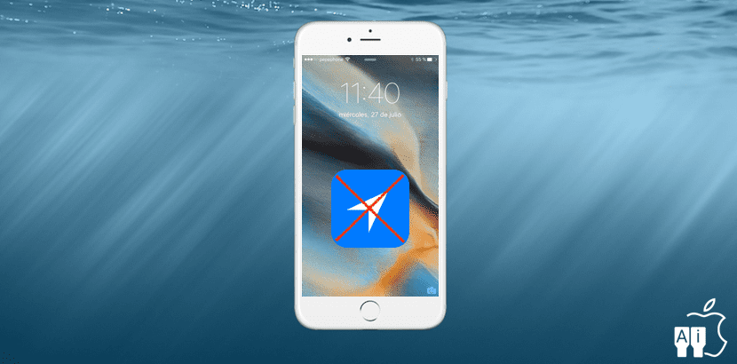 iPhone sin GPS