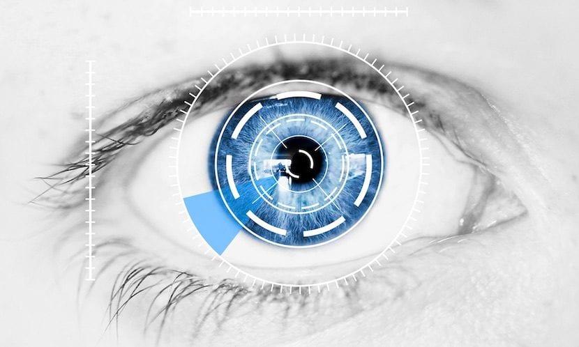 Escáner de iris