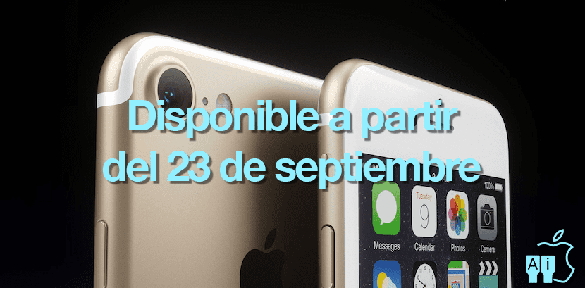 Disponibilidad iPhone 7 según AT&T