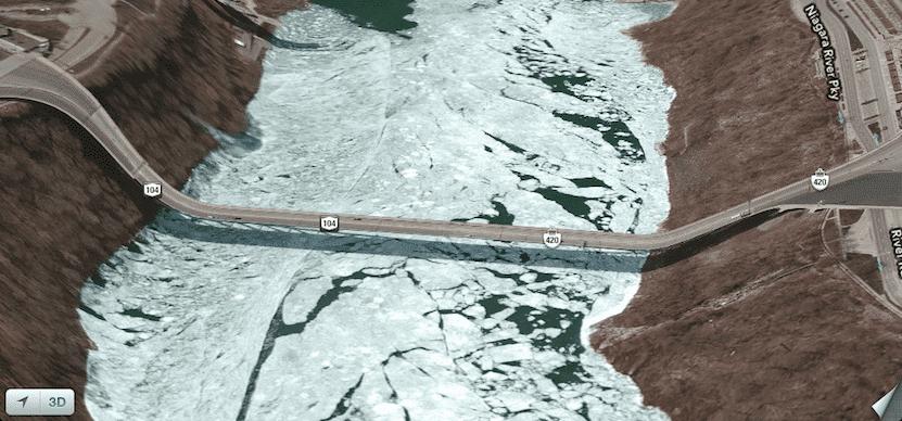 Error en los mapas de Apple