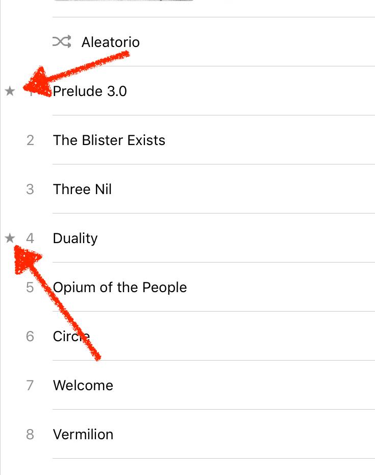 Estrellas en Apple Music
