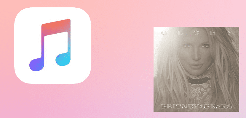 Glory, de Britney Spears, en Apple Music