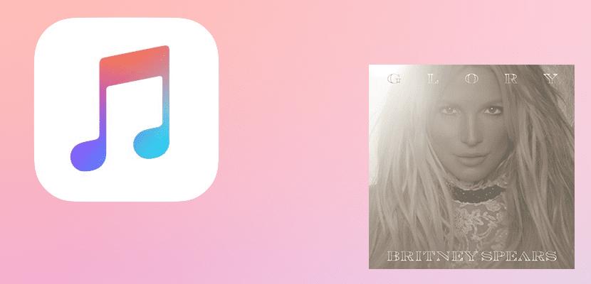 Glory, de Britney Spears, en Apple Music