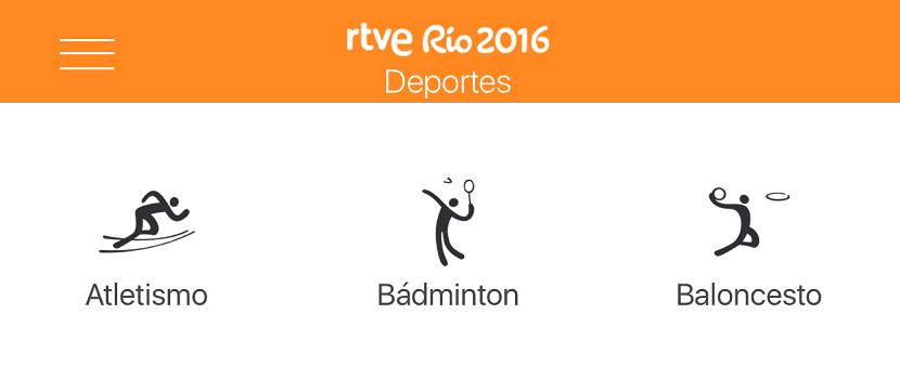 Deportes Río 2016