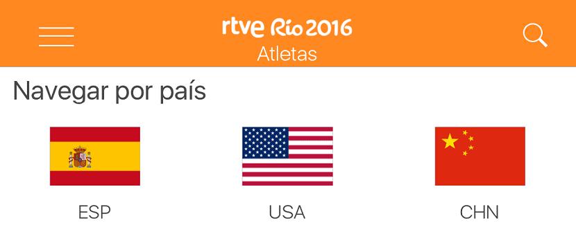 atletas río 2016
