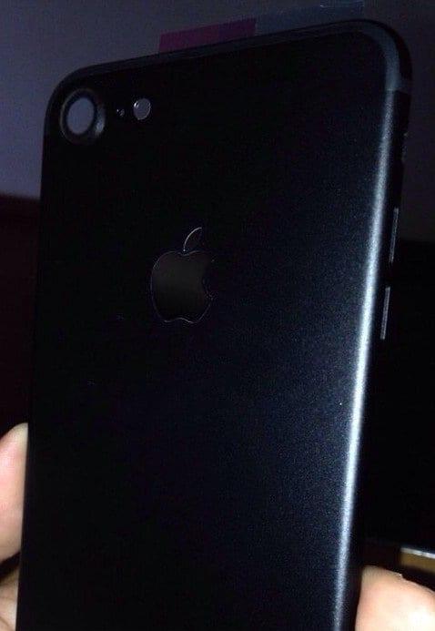 Carcasa de iPhone 7 negra