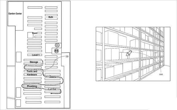 Patente dispositivo de navegación de Realidad Aumentada-1