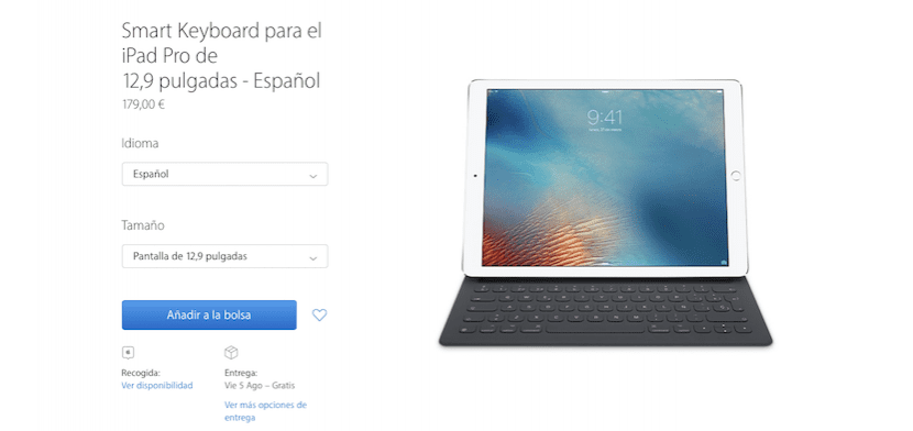 Smart Keyboard en Español