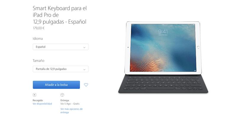 Smart Keyboard en Español
