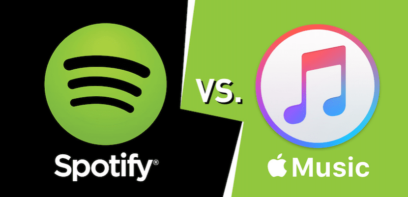 Spotify y Apple Music