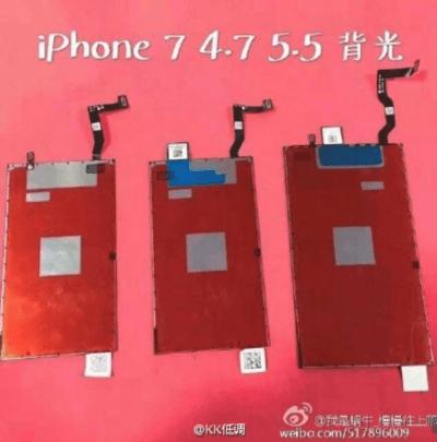 paneles iPhone 7