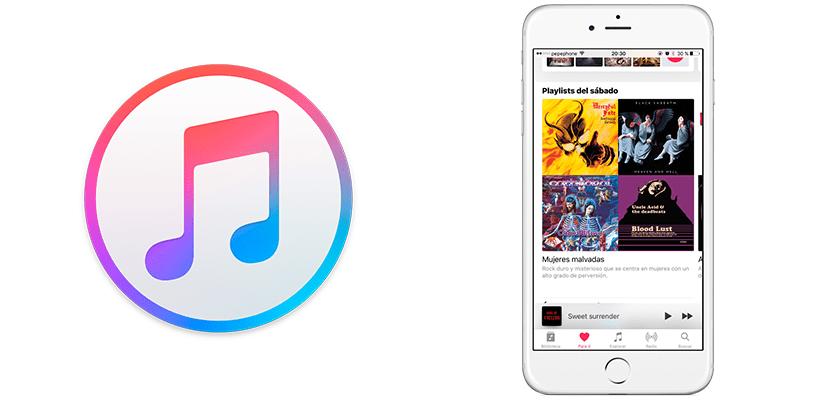 Listas de reproducción personalizadas de Apple Music