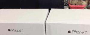 Caja del iPhone 7