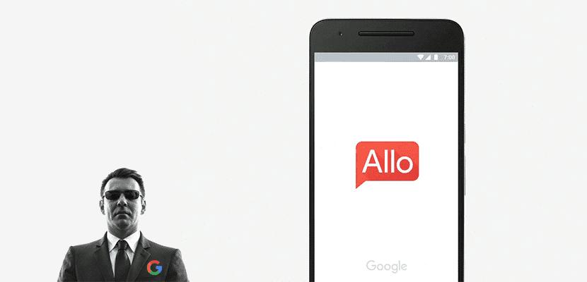 Google Allo y espía