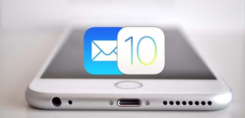Mail en iOS 10