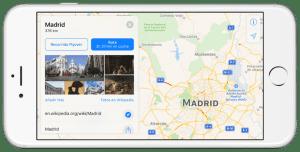 Mapas de iOS 10