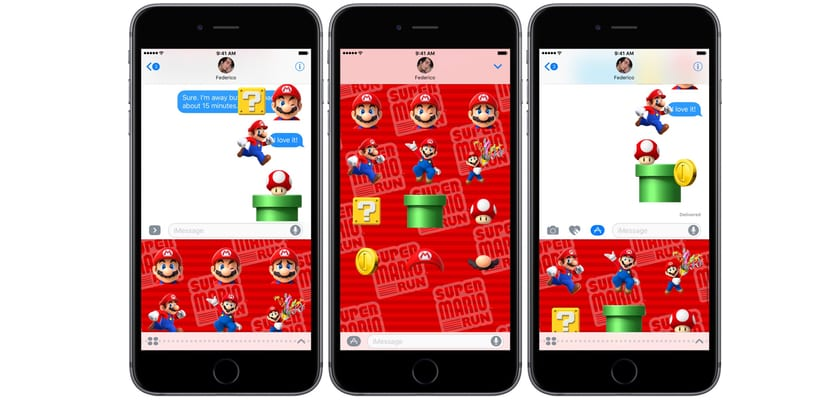 Mario-Stickers