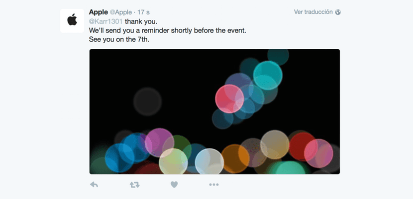apple keynote twitter