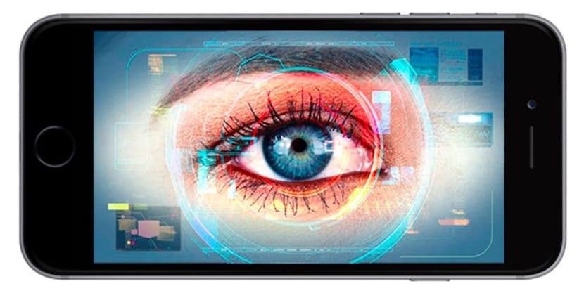 escaner-de-iris-iphone-8