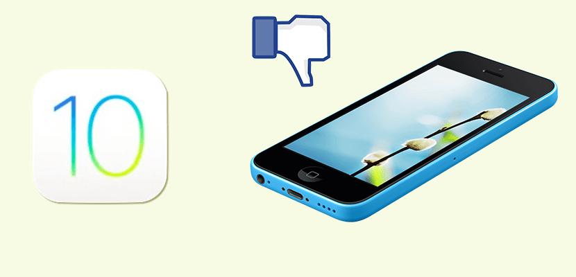 iOS 10 y el iPhone 5c