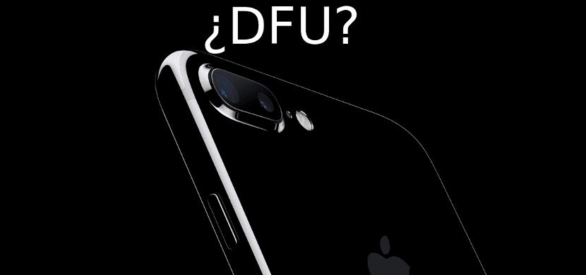 iPhone 7 DFU
