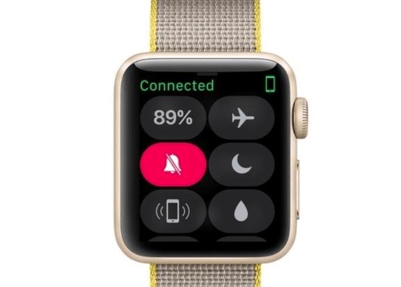 Apple Watch nuevo Centro de Control