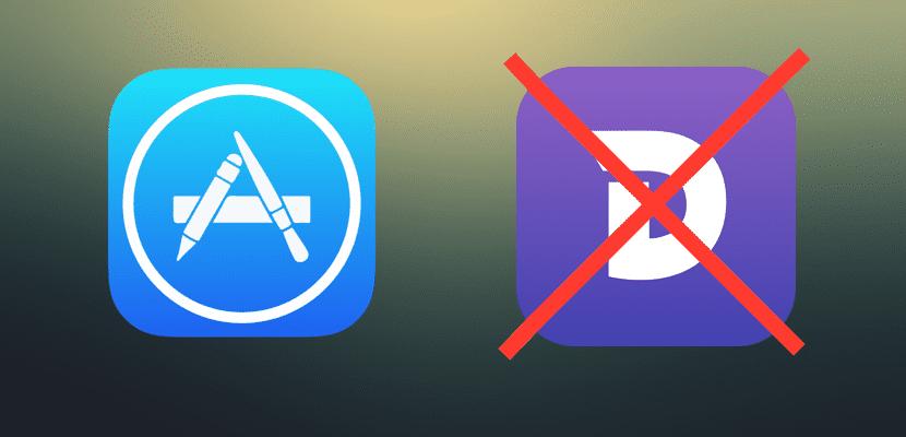 Dash fuera del App Store