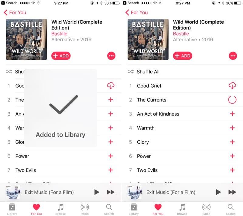 Cómo utilizar las nuevas característica de Música en iOS 10