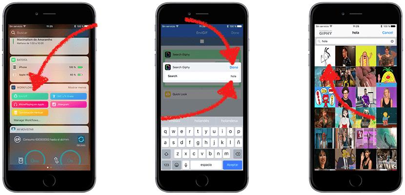 Enviar GIFs por WhatsApp con Workflow