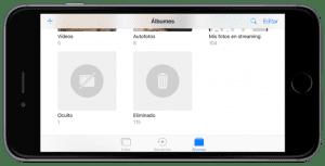 Ocultar las fotosos en iOS 10