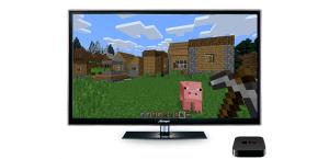 Minecraft para Apple TV