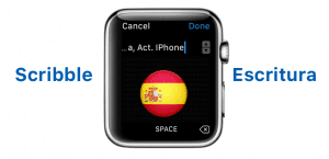 Scribble en watchOS 3