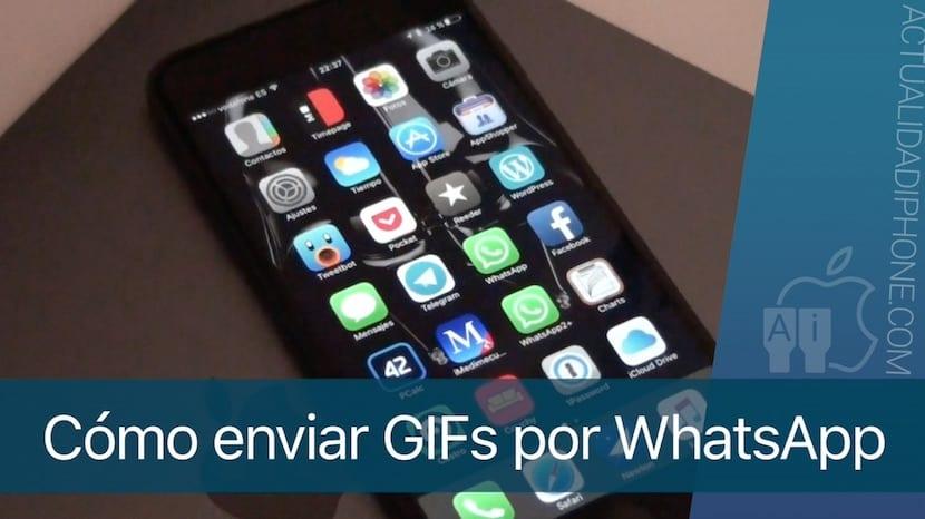 Cómo enviar GIFs por WhatsApp desde el iPhone