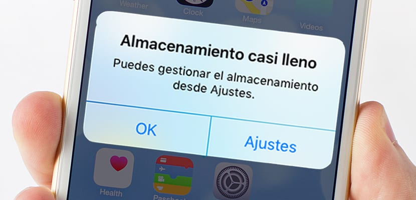 iPhone lleno