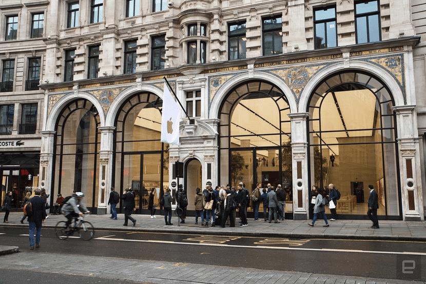 apple-store-regent-street-renovada