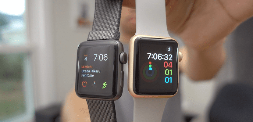 Apple Watch Series 1 y Apple Watch Series 2