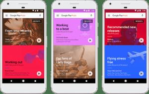 Google Play Music te ayudará a encontrar la música más adecuada