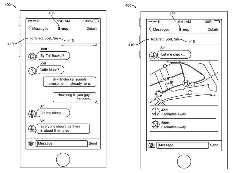 Patante de Siri en iMessage