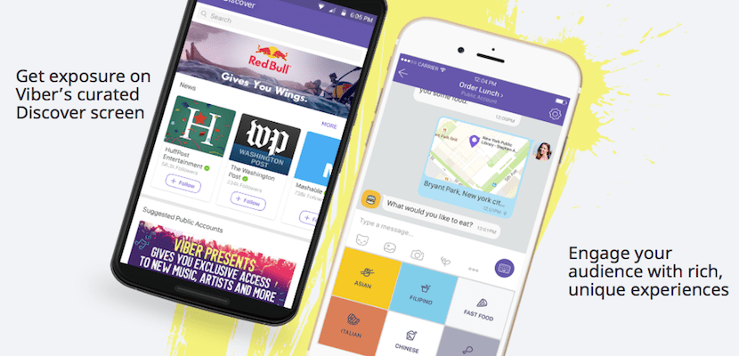La app de mensajería Viber ya permite interactuar a marcas con usuarios
