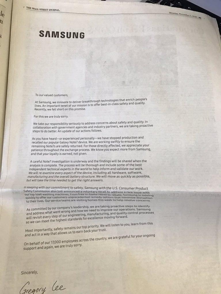 disculpas-samsung-note-7-diarios-americanos