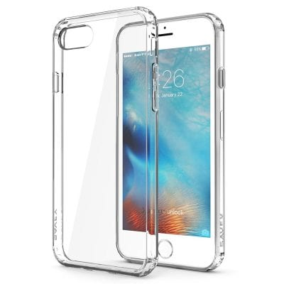 Funda transparente SAVFY para iPhone 7 Plus