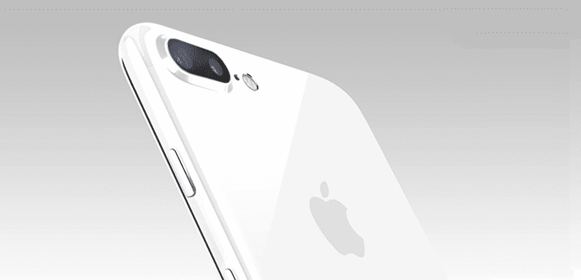 iPhone 7 blanco brillante