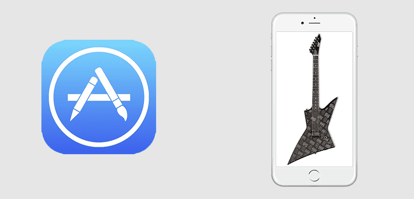 Tocar la guitarra con el App Store