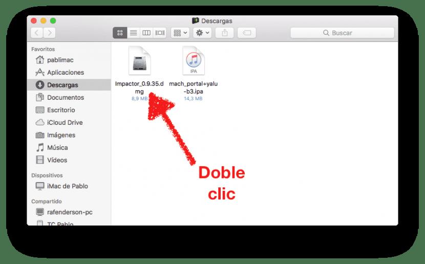 Abrir Cydia Impactor