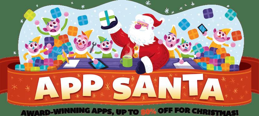 Santa Claus nos trae 16 apps con descuentos de hasta el 80%