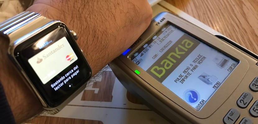 Apple Pay con Apple Watch Series 1