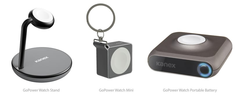 Kanex presenta diferentes estaciones de carga para Apple Watch
