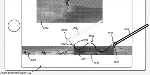 Patente Apple Pencil en iPhone