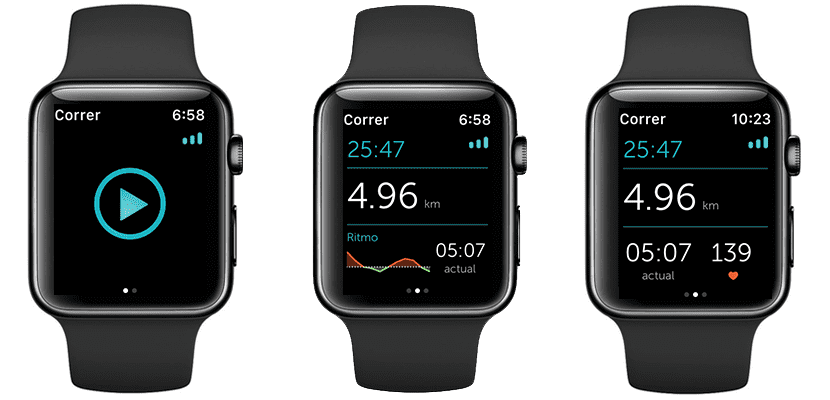 Runtastic en el Apple Watch