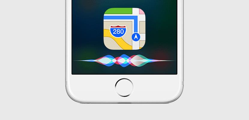 Siri y Mapas